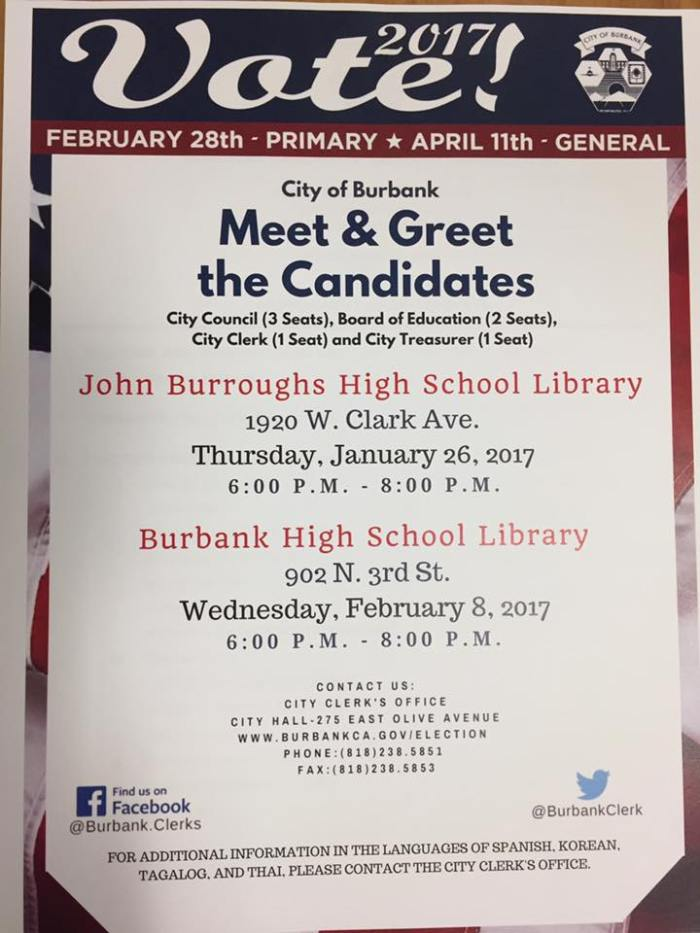 Candidate Meet & Greet Events