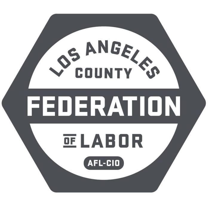 Los Angeles County Federation of Labor Endorsement